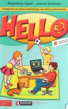 HELLO 3! Podręcznik + zeszyt ćwiczeń + 2CD /333/