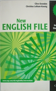 New English File Intermediate Student`s Book /463/