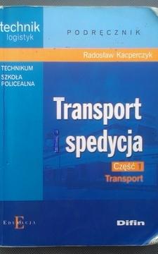 Transport i spedycja cz.1-2 /526/