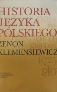 Historia języka polskiego Tom II