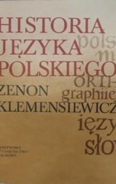 Historia języka polskiego Tom III