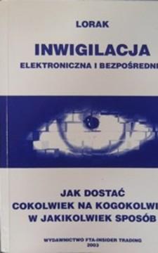 Inwigilacja elektroniczna i bezpośrednia