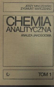 Chemia analityczna Tom 1 Analiza jakościowa