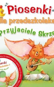 Piosenki dla przedszkolaka cz.7 Przyjaciele Skrzata + Nagrania na CD /30/