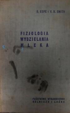 Fizjologia wydzielania mleka /844/