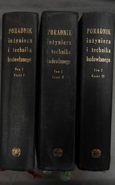 Poradnik inżyniera i technika budowlanego Tom II cz.2-3 /916/