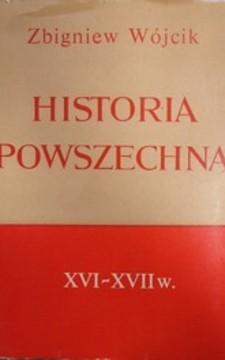Historia powszechna XVI - XVII w./937/
