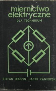 Minernictwo elektryczne dla technikum /1138/