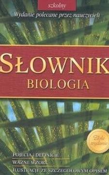 Słownik Biologia /1722/