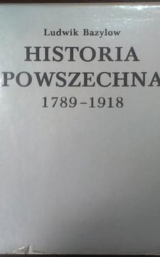 Historia powszechna 1789 - 1918 /1688/