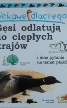 Gęsi odlatują do ciepłych krajów i inne pytania na temat ptaków /3046/