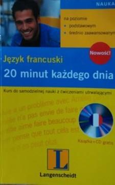 Język francuski 20 minut każdego dnia /3375/