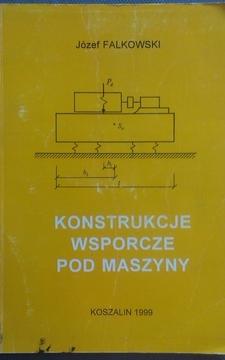 Konstrukcje wsporne pod maszyny /2335/