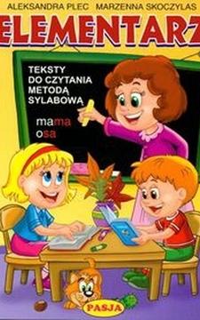 Elementarz Teksty do czytania metodą sylabową /3532/