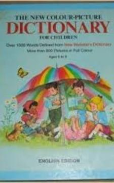 The new colour-picture Dictionary for children /3752/