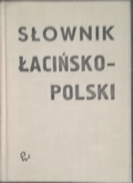 Słownik łacińsko-polski /2789/