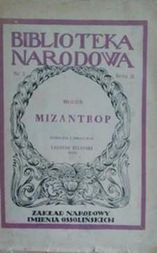 Mizantrop /3914/