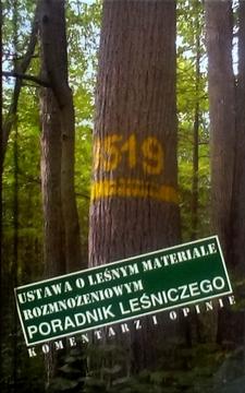 Ustawa o leśnym materiale rozmnożeniowym /5060/