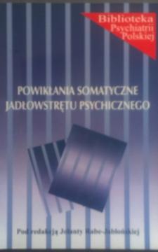 Powikłania somatyczne jadłowstrętu psychicznego /5069/