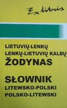 Słownik litewsko-polski, polsko-litewski /4373/