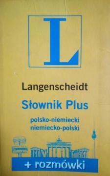 Słownik Plus polsko-niemiecki, niemiecko-polski + rozmówiki /4485/