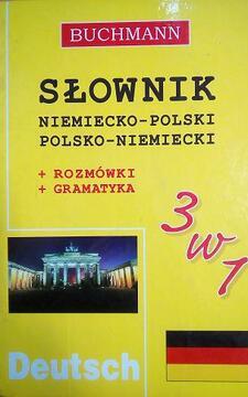 Słownik 3w1 niemiecko-polski, polsko-niemiecki /4634/