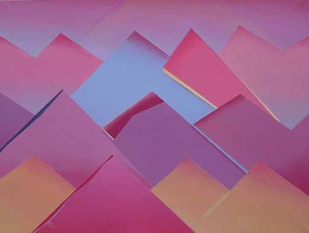 WARSTWY CZŁOWIEKA, 2015, olej na płótnie, 175 x 230 cm / Human Layers, 2015, oil on canvas, 175 x 230 cm