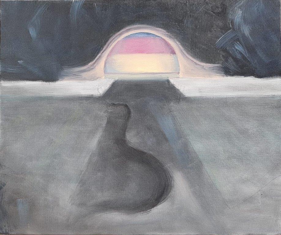 świnoujscie, 2019, 50x60 cm