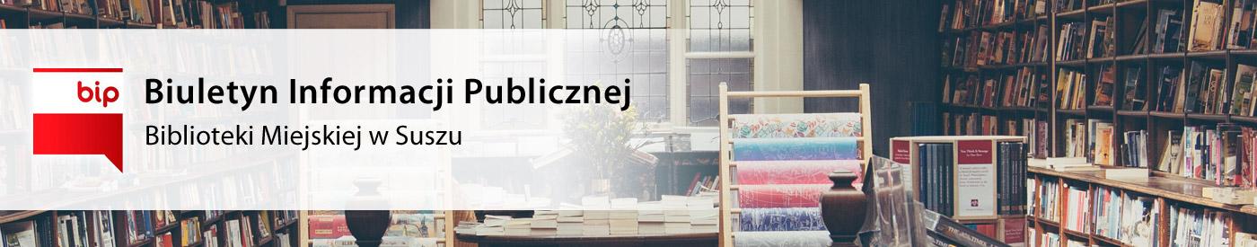 BIP Biblioteka Miejska w Suszu