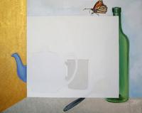 Butterfly, 2011, oil, oil, 40 x 50 cm
