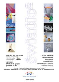 Światło² - wystawa malarstwa, rzeźby i szkła z Murano. 27 listopada 2015, godz. 19:00
