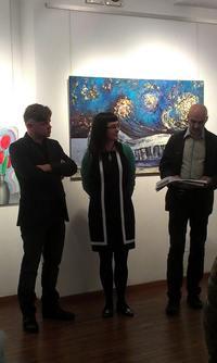 Wystawa Dźwiękobrazy, Październik 2014, ThinArt  / Soundpaintings exhibition, October 2014, ThinkArt Space