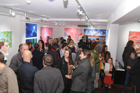Wystawa Światło², listopad 2015, ThinArt / Light² exhibition, November 2015, ThinkArt Space