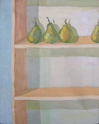 Pears, 1998, oil, 50 x 40 cm