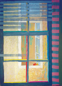 A Window, 1995, oil, 60 x 90 cm