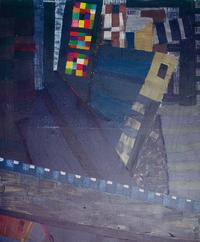 Hongkong, 1989, oil, 130 x110 cm
