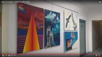 """Relacja z wystawy """"Kolor w Przyrodzie – Ptaki""""  na YouTube przygotowana przez TVK Winogrady"""
