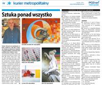 Dariusz Głowacki w Kurierze Metropolitalnym