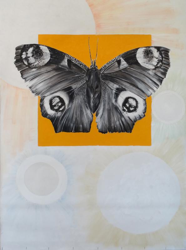 Kolekcja II / Collection II, 2018, olej plótno, 120 x80 cm