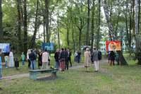 Wystawa w Ptasim Parku w Mosinie, wrzesień 2021 (fot. Mosiński Ośrodek Kultury)