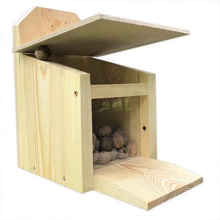 Karmnik dla wiewiórki (na orzechy)