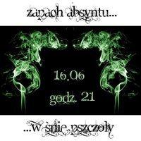 Absyntia, Mute i Gra Pozorów, w warszawskim klubie Sen Pszczoły