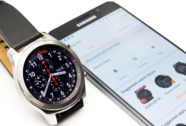 Test Samsung Gear S3 Classic
