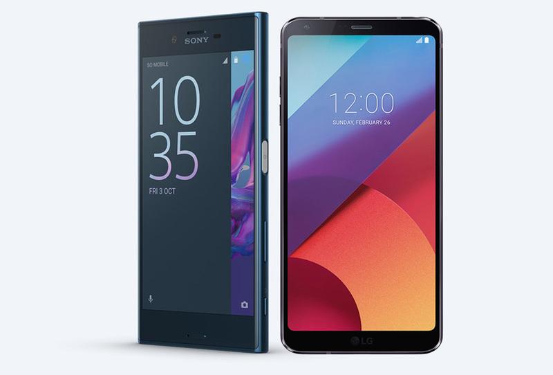 Sony Xperia XZ Premium vs LG G6