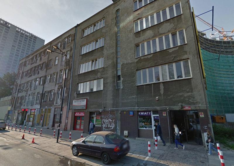 Grzybowska 73 - siedziba Telekomunikacji Cyfrowej