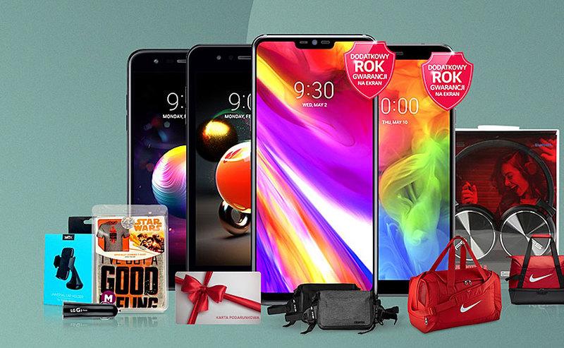 Promocje smartfonów LG