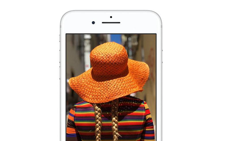 iPhone 8 w Orange