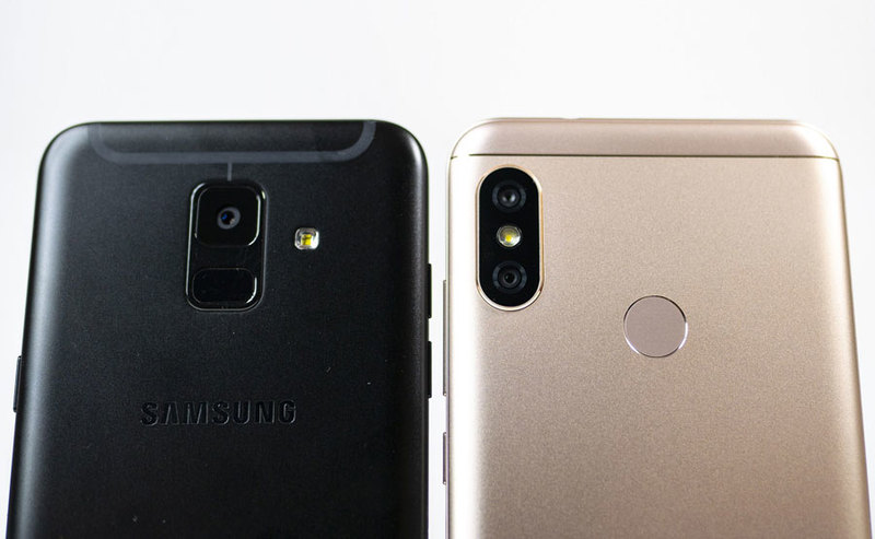 Samsung Galaxy A6 i Xiaomi Mi A2 Lite
