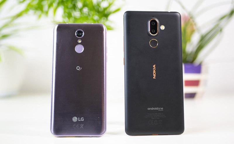 LG Q7 i Nokia 7 Plus