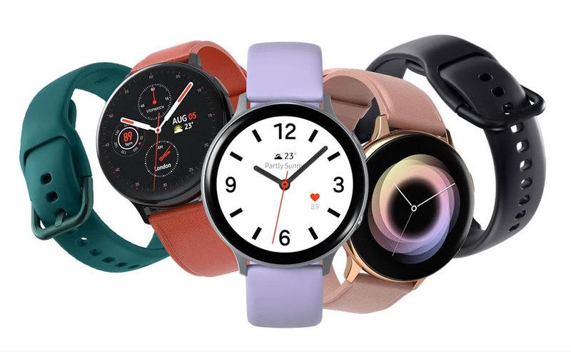 Samsung Galaxy Watch Active2 w przedsprzedaży z ładowarką Duo Pad